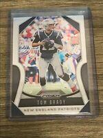Tom Brady 2019 Panini Prizm New England Patriots Card #18
