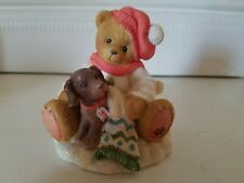 """Cherished Teddies Lee """"You're A Bear's Best Friend"""" Collectible Bear"""
