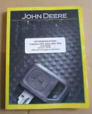 John Deere Traktoren 6520 + 6620 + 6820 + 6920 + 6920S Betriebsanleitung