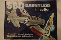 WW2 USN USMC SBD Dauntless Aircraft In Action Squadron Signal Reference Book
