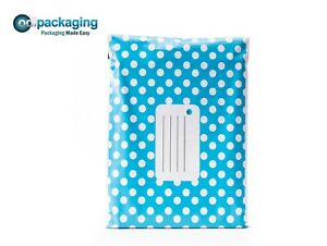 Polka Dot Mailing Bags│Poly Mailer Postage Bags│Strong Self Seal │All Sizes!!!