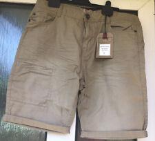 Nwt Brave Soul Khaki Shorts Size 34 W