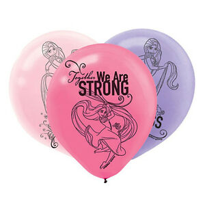 TANGLED Dream Big LATEX BALLOONS (6) ~ Birthday Party Supplies Helium Decoration