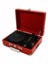 Protelx Limited: GPO Attaché Record Player - Pillarbox Red