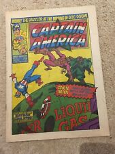 CAPTAIN AMERICA comic May 13th 1981 issue number 12