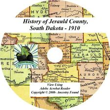 1910 History & Genealogy JERAULD County South Dakota SD