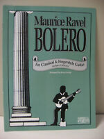 Maurice Ravel Bolero for Classical & Fingerstyle Guitar Sheet Music Tablature