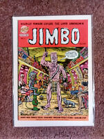 JIMBO #1- Gary Panter (SLASH*PEEWEE'S PLAYHOUSE) '99 ZONGO 1st PB Printing*RARE!