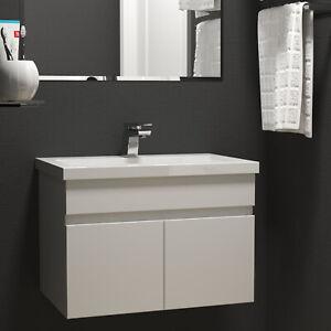 Waschtisch mit Unterschrank Badmöbel Set Waschbecken mit Unterschrank 60 80 100