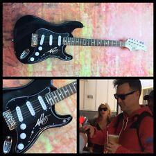 GFA Blink-182 Original * MARK HOPPUS * Signed Electric Guitar PROOF COA