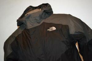22697-a Boys The North Face Ski Jacket Hyvent Size Large Black Gray 100% Nylon