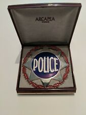 France Gendarmerie Police Insignia. Badge Award. (1980-1990) w/ display box.