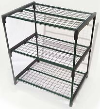 3 Tier Greenhouse Plant Flowers Growing Rack Stand Space Removable Shelves