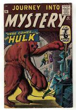 Atlas Marvel comics Journey into mystery 62  proto type HULK pre thor VG 4.0