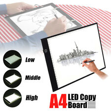 A4 LED Tracing Light Box Board Artist Tattoo Drawing Pad Table Stencil Display