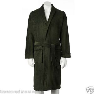 Men's Croft & Barrow Plush Robe ~ Size L/XL ~ New With Tags