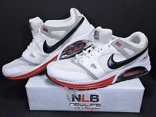 2011 Nike Air Max Lunar White/Black/Red 443915-160 Men's Size 13
