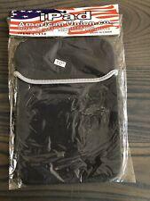Black Neoprene Soft Tablet Sleeve Case Bag for iPad 4th Retina/iPad 3/iPad 2
