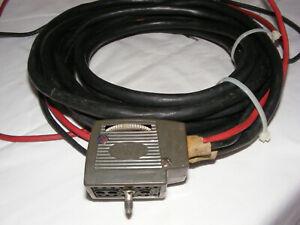 VINTAGE MOTOROLA MOTRAC CONTROL CABLE TKN6060A TYPE 1 60 Amp