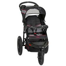 New ListingBaby Jogging Stroller Swivel Locking Wheel Canopy Kids Outdoor Travel Millennium