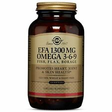 Solgar EFA 1300 mg Omega 3-6-9 Softgels 120 Count