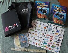 Scuba Schools International Open Water Diver Manual Supplement Book Dvd Dive Log