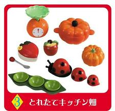 Re-ment #52 miniature fairy tale farm kitchenware scale apple pumpkin container
