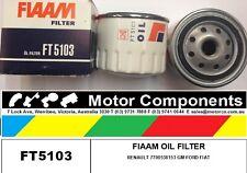 OIL FILTER  FT5103 FORD FIAT GM RENAULT I/W Z71