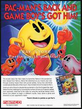 PAC-MAN__Original 1990 Trade Print AD game promo__Nintendo GameBoy advertisement