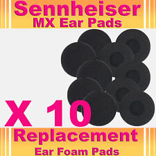 10 x EarPads For Sennheiser MX Headphone EarPhone Cushions Headset Earpads