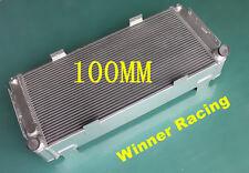4 row 100MM ALUMINUM ALLOY RADIATOR FOR FORD GT40 V8 1964-1969 HIGH PERFORMANCE