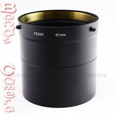 67mm 67 DC Lens Filter Adapter Ring for Panasonic Lumix DMC-FZ200 Camera DMW-LA7