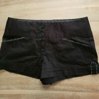 Charlotte Russe Juniors Women's Black Shorts Jrs Size 4