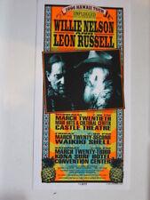 Willie Nelson Leon Russell Arminski 1996 Hawaii card