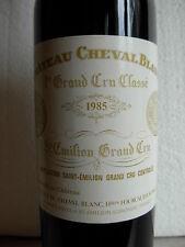 CHÂTEAU CHEVAL BLANC 1985 - SAINT EMILION -  1er GRAND CRU CLASSE