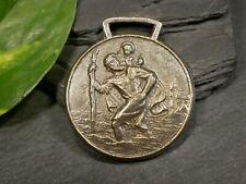 Heiliger Christopherus VD Große Pilger Medaille Anhänger Reise Autofahrt Tracht