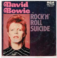 "David BOWIE     Rock n' roll suicide    7"" 45 tours SP"