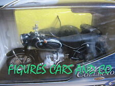 1/18  MOTO BMW R 60 / 2 SIDECAR SIDE CAR STEIB  SOLIDO  EN BOITE