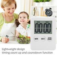LCD Digital Kurzzeitmesser Küchenuhr Kurzzeitwecker Eieruhr Timer Küche DE