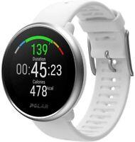 Polar Ignite Fitness GPS Watch Heart Rate Monitor Sleep Tracker White Copper M/L