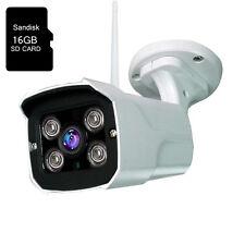 HD IR 1080P 2.0MP Outdoor Wireless WiFi IP Camera Sony CMOS 16GB SD Card ONVIF