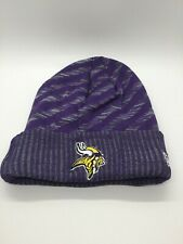 Minnesota Vikings New Era Football Beanie Embroidered Knit Cap Sideline Hat