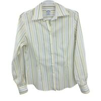 Brooks Brothers Women's Size 4 Striped Button Down Long Sleeve