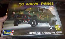 REVELL 85-4189 1953 Chevy PANEL Van Truck Model Car Mountain KIT fs 1/25 Gasser!