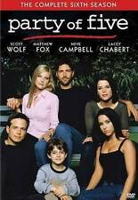 TV-Party of Five - Season Six  DVD NEW