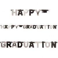 Large Graduation Cap Party Letter Banner party decoration Congrats Grad FREE P&P