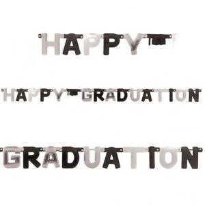 Large Graduation Cap party Letter Banner party decoration Congrats Grad
