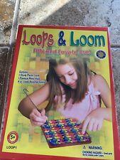 Loops & Loom Craft Weaving Loom Playset w/ 2 looms