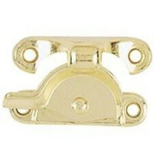 New Full Case (100) Stanley 571060 Bright Brass Sash Crescent Window Locks Sale
