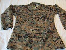 USMC Woodland Marpat Camouflage Jacket Blouse Size Medium Long